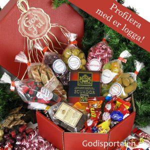 Lyxig jullåda Godisportalen